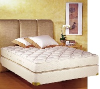 Royal Latex King Size Quilt Top Mattress w/ Box Spring