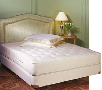 Royal Pedic Queen Size All Cotton Mattress w/ Box Spring