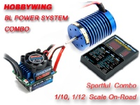 EZRUN Brushless System Combo B2 w/ 35A ESC & 9T@4300KV 3650M Brushless Motor for 1/12,1/10 on-road racing for experienced drivers