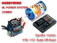 HobbyWing EZRUN Brushless System Combo B4 w/ 60A ESC and