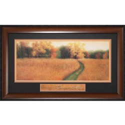 Image For Path to the Woods - Framed Art