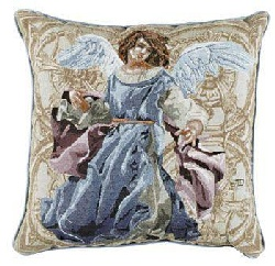 Image For Angels of Hope Pillow - Blue Angel