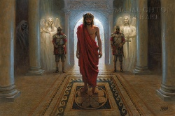 Image For Awaiting the Command by Jon McNaughton Canvas Giclee