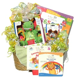 Image For Baby Einstein Gift Basket For Birth to Age 2