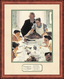 freedom-from-want-by-norman-rockwell
