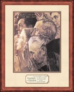 freedom-to-worship-by-norman-rockwell