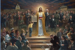 Image For One Nation Under God by Jon McNaughton Lithograph Print