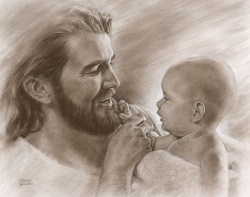 precious-by-david-bowman-jesus-with-baby-best-seller