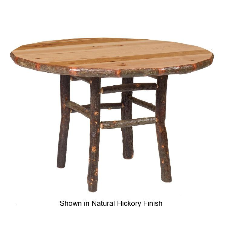 616 AMISH DINING ROOM TABLES AMISH HICKORY ROUND TABLE 866 272 6773