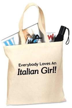 Loves An Italian Girl Tote