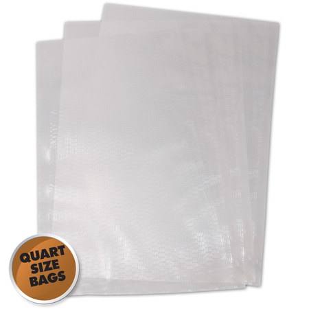 "Weston 8"" x 12"" Vacuum Sealer Bags - 100 pc - Largeness Pkg"