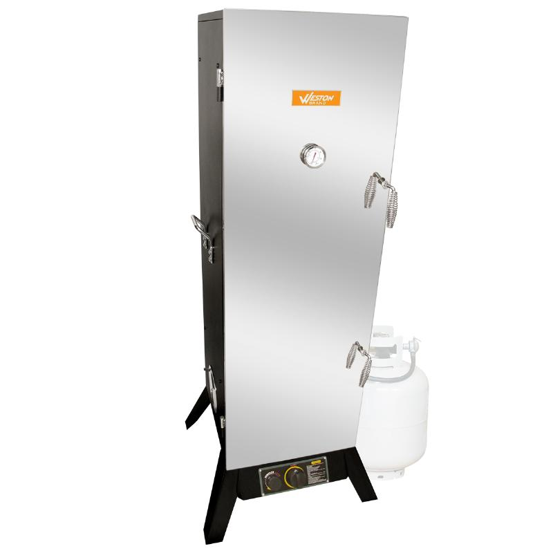 "Weston Smoker, Gas 48"" Powder Coated Black"