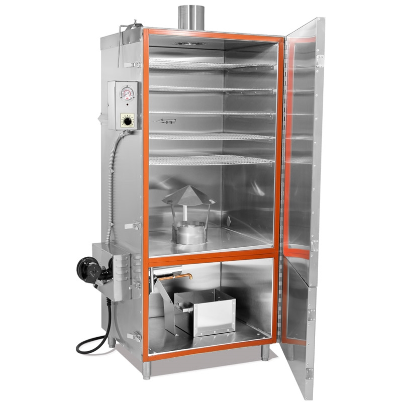 TSM Electric Smokehouse 100 Lb. Stainless Steel Inside Stainless Steel Outside 45300