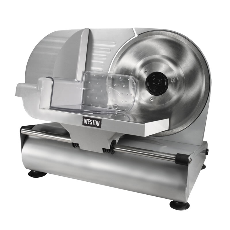 """Weston 9"""" Deluxe Meat & Food Slicer, CE and GS Approved"""