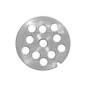 "Manufacturer #: 62241 Fits #22 Grinders Stainless Steel Holes: 1/2"" Diameter Plates: 3 1/4"" Diameter with 7/16"" center hole"
