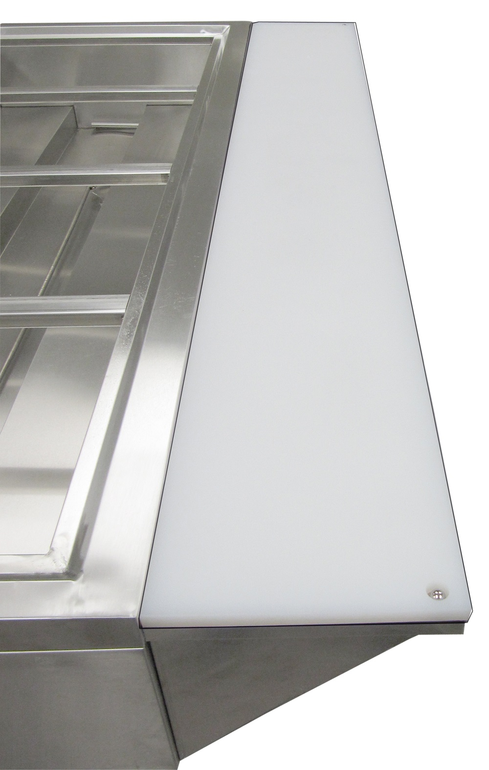 Adcraft Cutting Board & Stainless Steel Shelf for EST-240EST-240/PCB