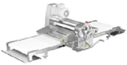 """American Eagle Dough Sheeter, Bench Type, Roller width 20 1/2"""", length 71"""" AE-DS52B"""