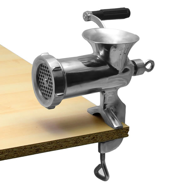 Alfa 12 Ss Stainless Steel #12 Hand Food Grinder Clamp Style12 SS