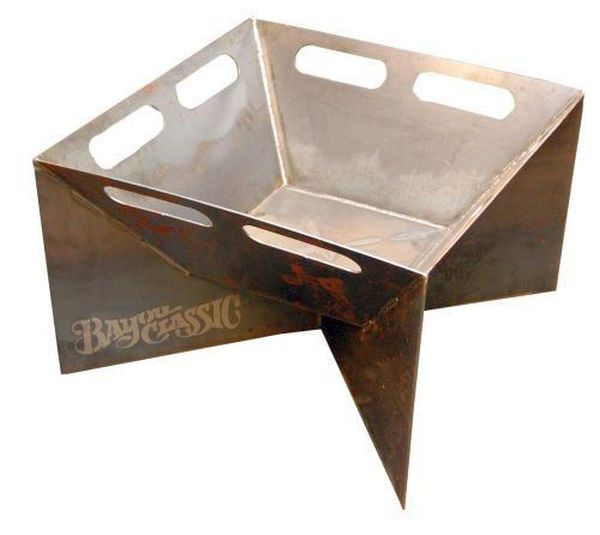 Bayou 24-in Steel Fire Pit, with handle cut-outs 900-524H