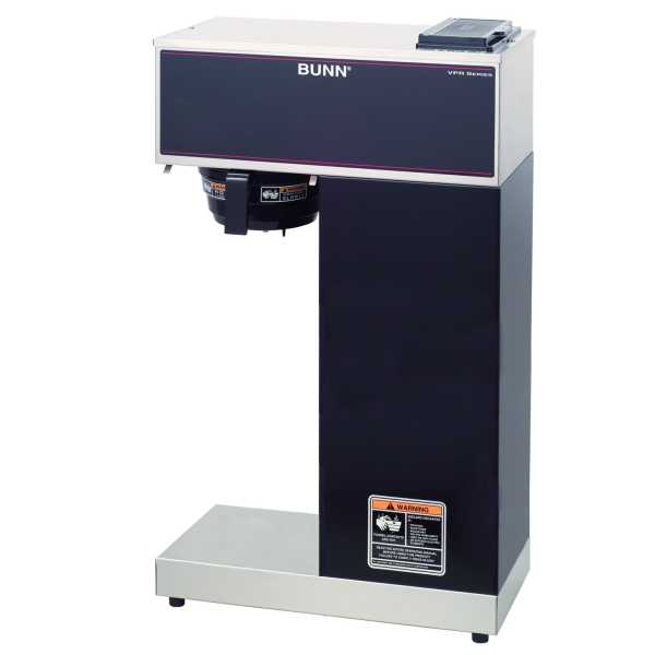 BUNN Pourover Thermal Brewers, Vpr-Aps, Black BUNN-33200-0010