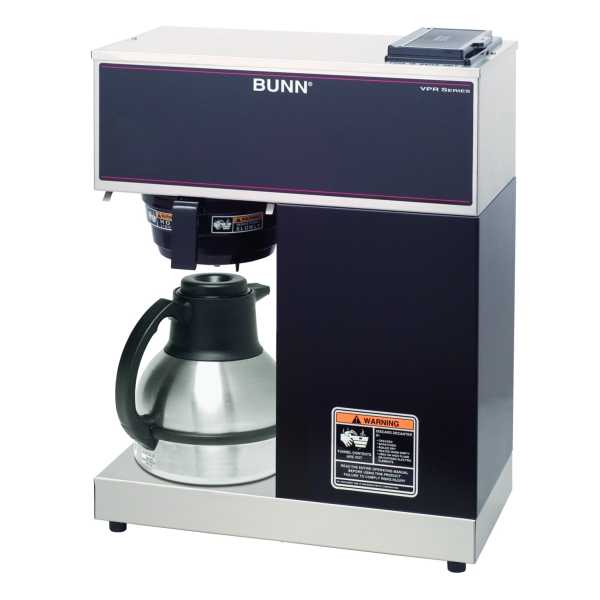 BUNN Pourover Thermal Brewers, Vpr, Black Tc BUNN-33200-0011