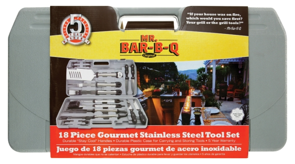 Click here for Mr Bar B Q 18-Piece Gourmet Stainless Steel Tool S... prices
