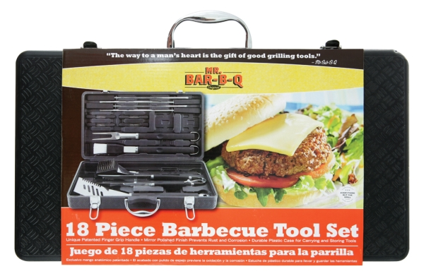 Click here for Mr. Bar.B.Q 94056X 18 Piece Barbecue Tool Set prices