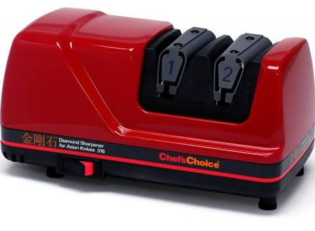 EdgeCraft M316 Chef'sChoice Sharpener for Asian Knives - Red316002