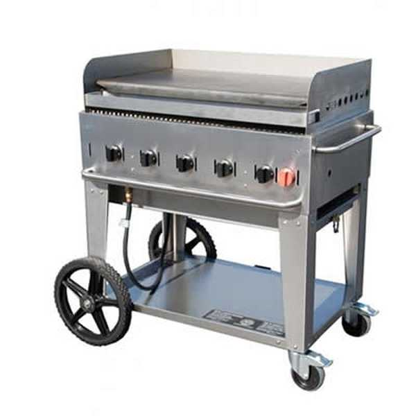 "Crown Verity Mobile Outdoor Griddle 36"" CRO-CV-MG-36"
