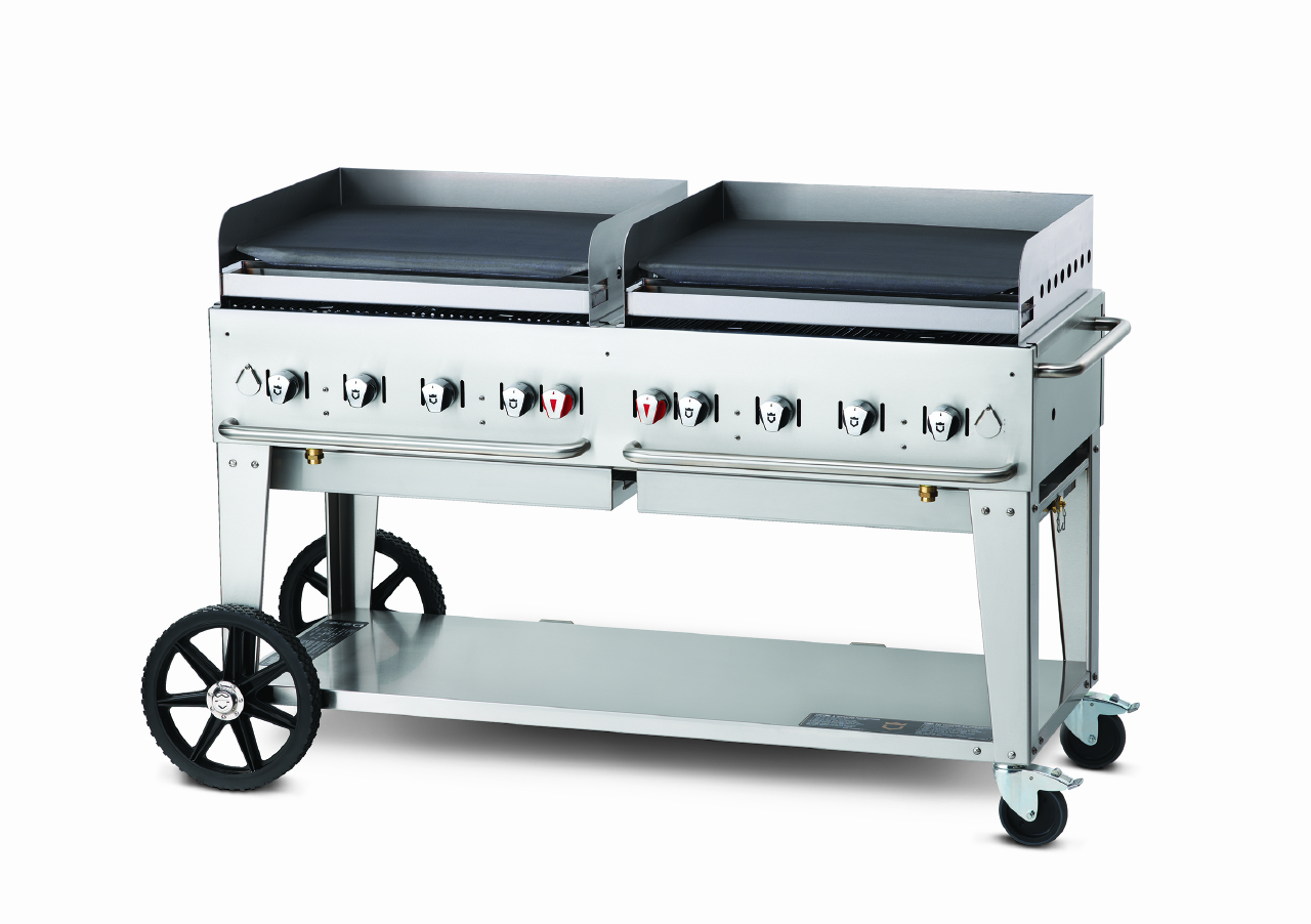 """Crown Verity Mobile Outdoor Griddle 60"""" - Nat Gas CRO-CV-MG-60-NG"""