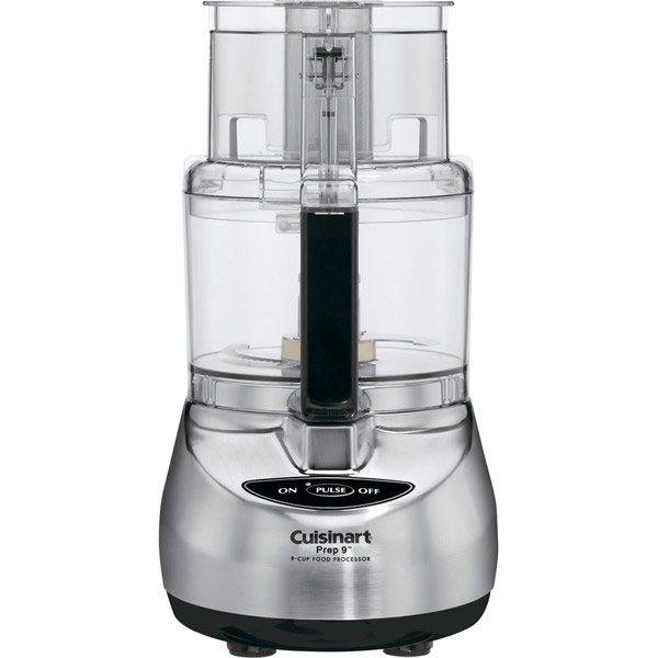 Cuisinart Prep 9-Cup Brushed Stainless Finish Food Processor