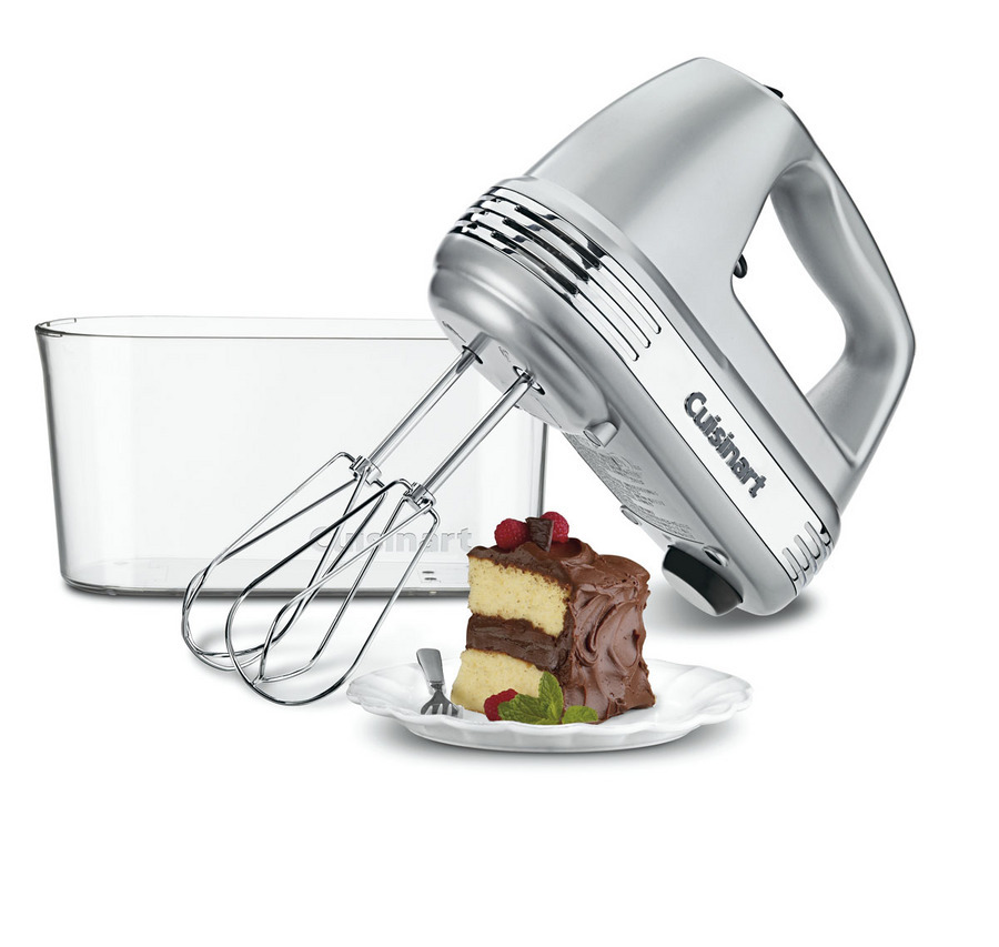 Cuisinart Power Advantage® Plus 9-Speed Mixer, Storage Case (Brushed Chrome)