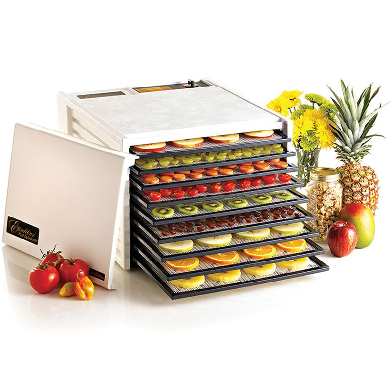 Excalibur Deluxe Series ED-3900 Nine-Tray Food Dehydrator, White