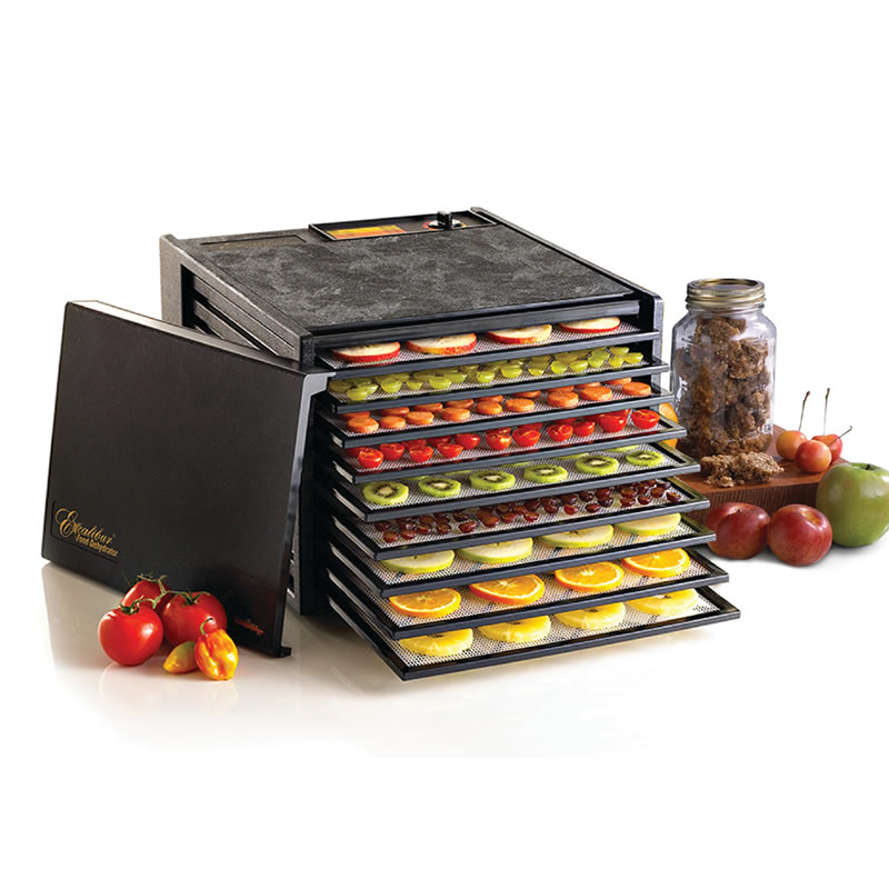 Excalibur Deluxe Series ED-3900 Nine-Tray Food Dehydrator, Black