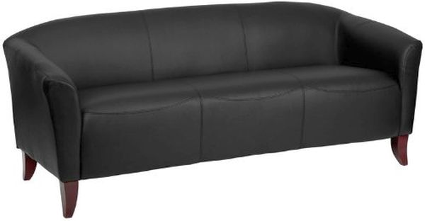 Flash Furniture HERCULES Imperial Brown Leather Love Seat111-2-BK-GG