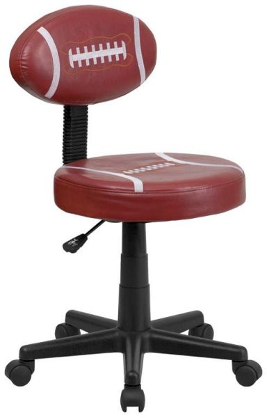 Flash Furniture Football Task Chair with ArmsBT-6181-FOOT-GG
