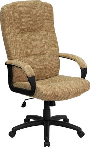 Flash Furniture High Back Brown Leather Office ChairBT-9022-BGE-GG