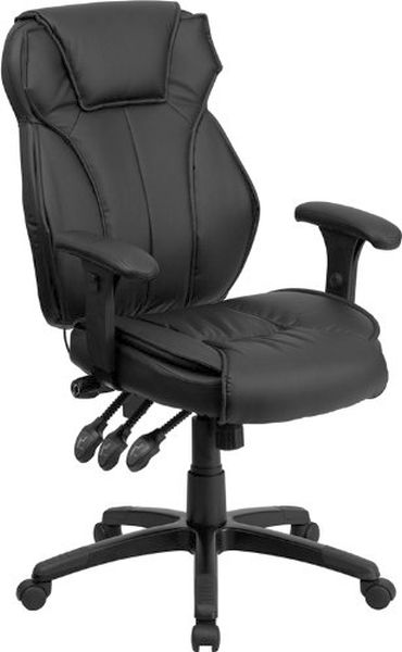 Flash Furniture High Back Black Leather Reclining ChairBT-9835H-GG