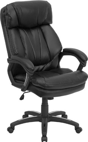 Flash Furniture High Back Black Leather Office ChairGO-1097-BK-LEA-GG
