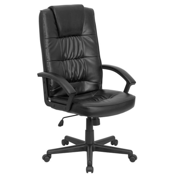 Flash Furniture High Back Black Leather Executive ChairGO-7102-GG