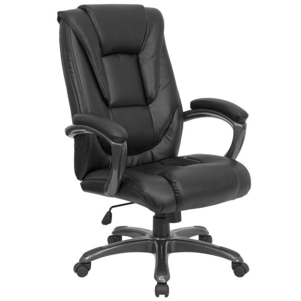 Flash Furniture High Back Black Leather Office ChairGO-7194B-BK-GG