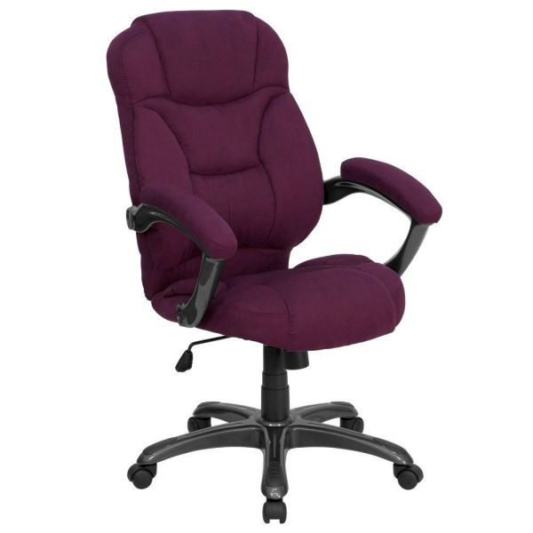 Flash Furniture High Back Gray Fabric Executive ChairGO-725-GRPE-GG