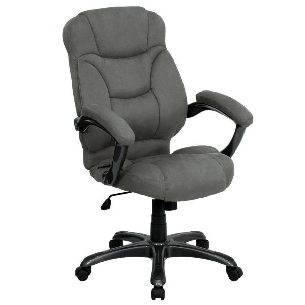 Flash Furniture High Back Navy Blue Swivel Office ChairGO-725-GY-GG