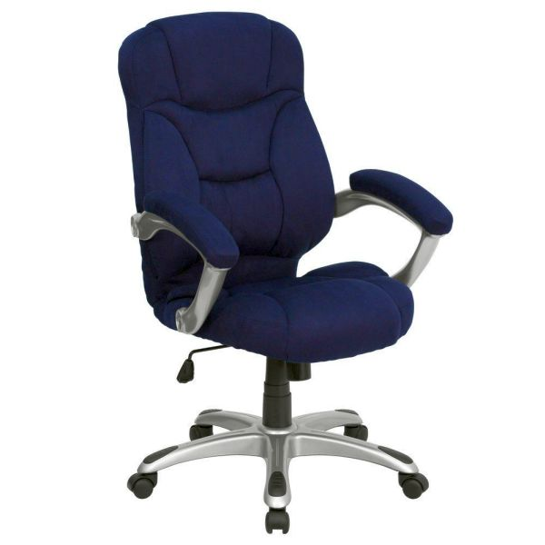 Flash Furniture High Back Navy Fabric Executive ChairGO-725-NVY-GG
