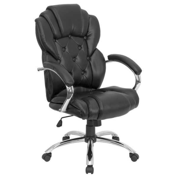 Flash Furniture High Back Black Leather Office ChairGO-908A-BK-GG