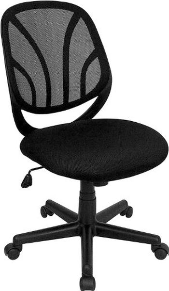 Flash Furniture Black Mesh Task Chair and Chrome BaseGO-WY-05-A-GG F-GO-WY-05-A-GG