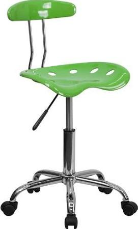 Flash Furniture Spicy Lime & Chrome Computer ChairLF-214-SPICYLIME-GG F-LF-214-SPICYLIME-GG