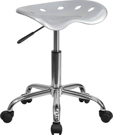 Flash Furniture Spicy Lime Tractor Seat and StoolLF-214A-SILVER-GG F-LF-214A-SILVER-GG