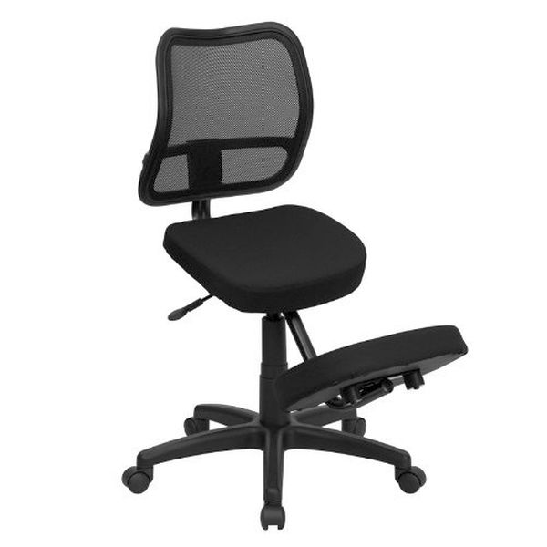 Flash Furniture Montana Black Mesh Task Chair & Chrome BaseWL-3425-GG F-WL-3425-GG