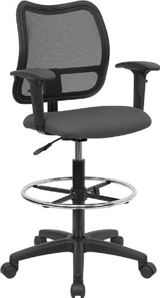 Flash Furniture MidBack Mesh Task Chair Navy Blue SeatWL-A277-GY-A-GG
